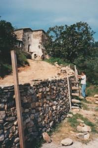 construction mur soutien