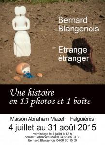 affiche B.Blangenois
