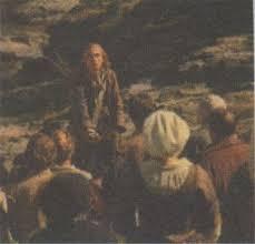 Abraham Mazel prêchant au désert