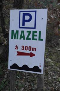 panneau parking maison Abraham mazel