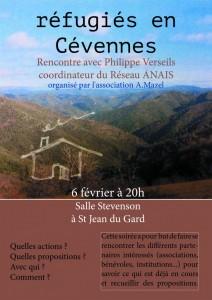 réfugiés Cévennes