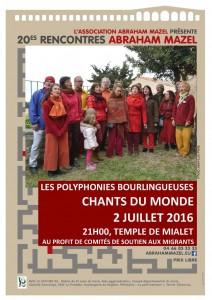 Affiche concert 2 juil.