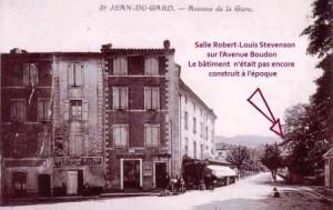 Avenue Boudon à St-Jean du Gard
