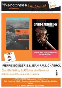 Affiche saint Barthélemy (2)