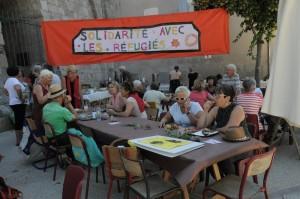 solidarité avec les réfugiés