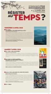 programme rencontres 2018