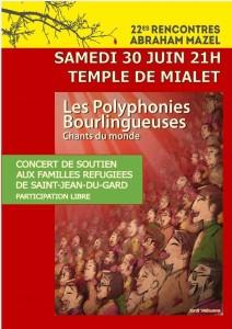 Les polyphonies bourlingueuses d'Aix en Provence
