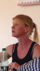 nomade et militante, elle s'est arrêtée à la maison Mazel