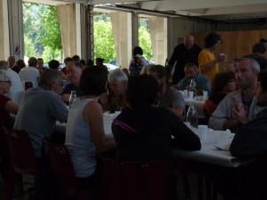 Réussite du repas de solidarité:plus de 150 convives!